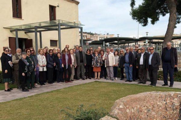 """Επίσκεψη του Συλλόγου Αργείων """"Ο Δαναός"""" στο Βυζαντινό Μουσείο Αργολίδας"""