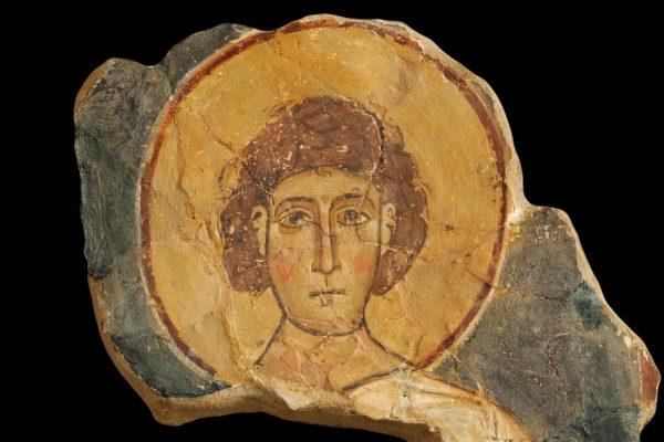 Εστιάζοντας στα εκθέματα του μουσείου: Τοιχογραφία με παράσταση αγίου διακόνου